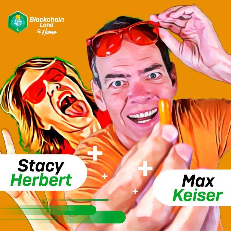 Stacy Herbert & Max Keiser